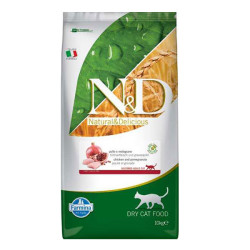 Farmina N&D - ND Tahılsız Tavuk ve Narlı Kısırlaştırılmış Kedi Maması 10 KG