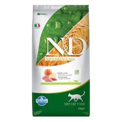 Farmina N&D - ND Tahılsız Yaban Domuzlu ve Elmalı Kedi Maması 10 KG