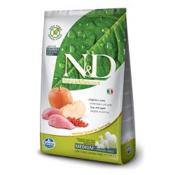 Farmina N&D - ND Tahılsız Domuzlu ve Elmalı Köpek Maması 2.5 KG