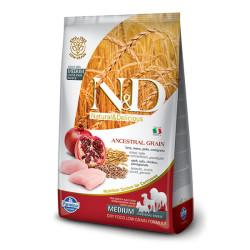 Farmina N&D - ND Düşük Tahıllı Tavuk Etli ve Narlı Köpek Maması 12 KG
