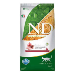 Farmina N&D - ND Tahılsız Tavuk Etli ve Narlı Yavru Kedi Maması 10 KG