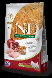 Farmina N&D - ND Düşük Tahıllı Tavuklu Küçük Irk Köpek Maması 7 KG