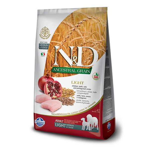 ND Light Düşük Tahıllı Köpek Maması 12 KG