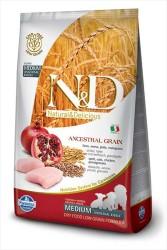 Farmina N&D - ND Düşük Tahıllı Tavuklu Yavru Köpek Maması 12 KG