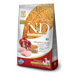 Farmina N&D - ND Düşük Tahıllı Tavuklu Yaşlı Köpek Maması 2,5 KG