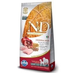 Farmina N&D - ND Düşük Tahıllı Tavuklu Light Köpek Maması 2.5 KG