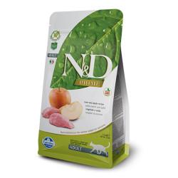 Farmina N&D - ND Yaban Domuz Ve Elmalı Kedi Maması 5 KG