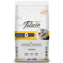Felicia - Felicia Düşük Tahıllı Kısırlaştırılmış Tavuklu Kedi Maması 12 KG