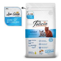 Felicia - Felicia Tüm Irklara Özel Somonlu Kedi Maması 2 KG
