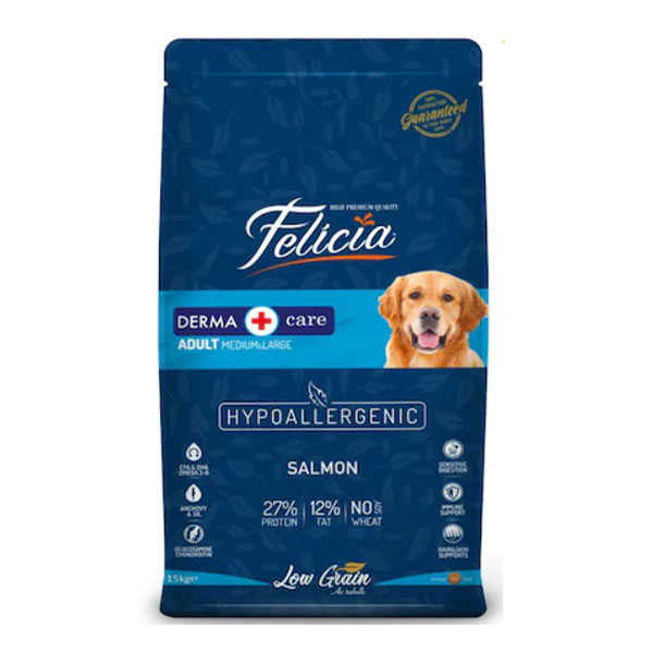 Felicia Tüm Irklara Özel Somonlu Köpek Maması 15 KG