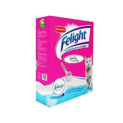 Felight Febreze Süper Beyaz Bentonit Topaklanan Kedi Kumu 6 lt