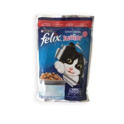 Felix - Felix Jöle İçinde Sığır Etli Yavru Yaş Kedi Maması 100 GR