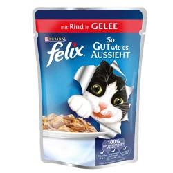 Felix - Felix Sığır Etli Kedi Konservesi 100 GR