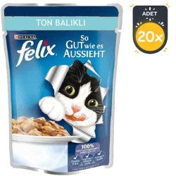 Felix Ton Balıklı Kedi Konservesi 100 GR * 20 ADET - Thumbnail