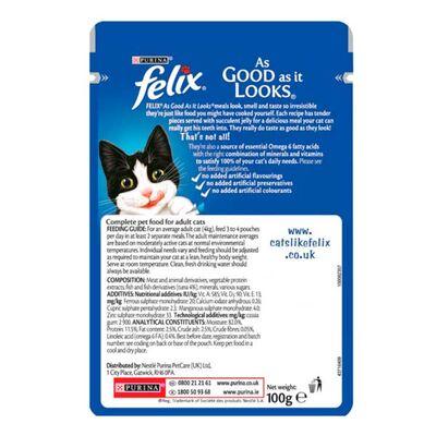 Felix Ton Balıklı Kedi Konservesi 100 GR * 20 ADET