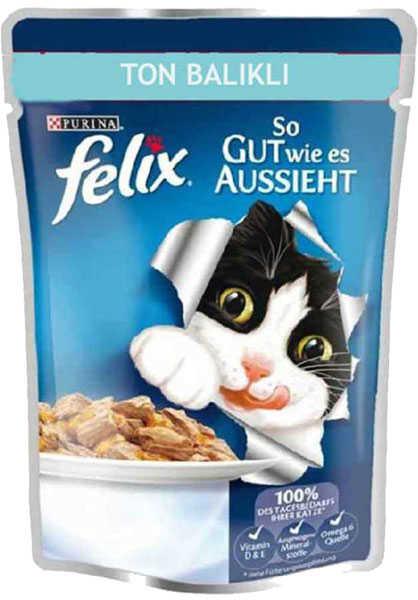 Felix Ton Balıklı Kedi Konservesi 100 GR