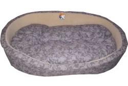 Ferplast - Ferplast Dandy Kumaş Köpek Yatağı - Gri