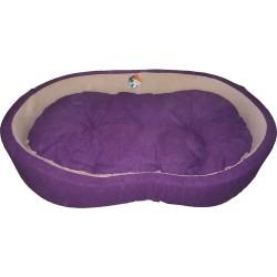 Ferplast - Ferplast Dandy Kumaş Köpek Yatağı - Mor
