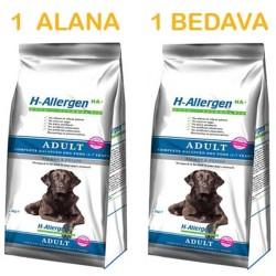 First Class - First Class Somon-Pirinç Hypoallergenic Köpek Maması 12KG ( 1 ALANA 1 BEDAVA )
