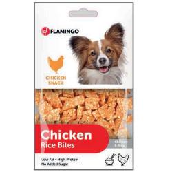 Flamingo - Flamingo Chicken Rice Bites Tavuk Etli Köpek Ödülü 85 Gr