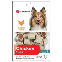 Flamingo - Flamingo Chicken Sushi Tavuk ve Balık Etli Glutensiz Köpek Ödülü 85 Gr