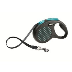 Flexi - Flexi Design Mavi Otomatik Gezdirme Şerit Tasma (S)