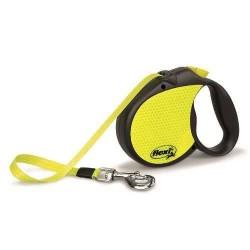 Flexi - Flexi Neon Otomatik Köpek Tasması (S)
