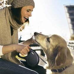 Flexi New Classic Şerit Otomatik Köpek Tasması 3M - XS - Thumbnail