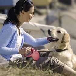 Flexi New Classic İp Otomatik Köpek Tasması 3M - XS - Thumbnail