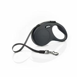 Flexi - Flexi New Classic İp Şeklinde Gezdirme Tasması Siyah 5M