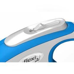 Flexi New Comfort Beyaz Şerit Köpek Gezdirme Tasması M - 5M - Thumbnail