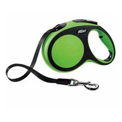 Flexi - Flexi New Comfort Şerit Köpek Tasması Yeşil 5M