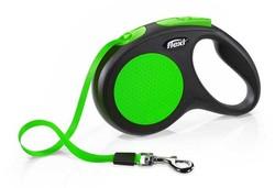 Flexi - Flexi New Neon Yeşil Otomatik Şerit Gezdirme Tasması Medium