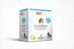 Flip - Flip Limon Kokulu Köpek Tuvalet Eğitim Pedi 10'lu (Large)