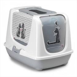 Moderna - Moderna Trendy Filtreli Kapalı Kedi Tuvalet Kabı