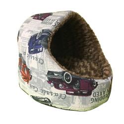 Flip - Flip Oval Yuva Şeklinde Kedi Evi