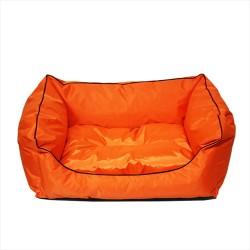 Flip - Flip Su Geçirmeyen Kedi-Köpek Yatağı Turuncu No:3