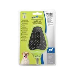 Furminatör - Furminator Dual Brush Çift Taraflı Köpek Tarağı Başlık