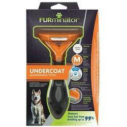 Furminatör - Furminatör Kısa ve Orta Tüylü Köpekler İçin Tarak - Medium