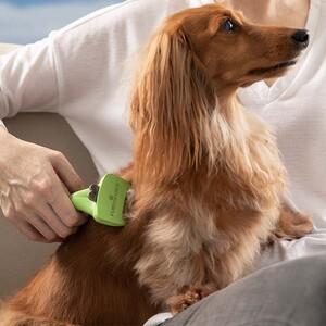 Furminator Uzun Tüylü Köpekler İçin Tarak Small - Thumbnail