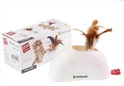 Flip - Gigwi Pet Droid 7022 Hareket Sensörlü ve Doğal Tüylü Kedi Oyuncağı