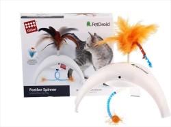 Flip - Gigwi Pet Droid Hareket Sensörlü Doğal Tüylü Kedi Oyuncağı