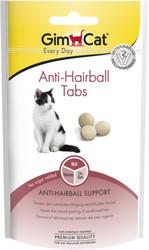 Gimcat - GimCat Anti Hairball Tüy Sağlığı için Şekersiz Kedi Ödül Tableti 40gr