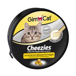 Gimcat - Gimcat Kedi Ödül Tableti Cheezies 200 GR