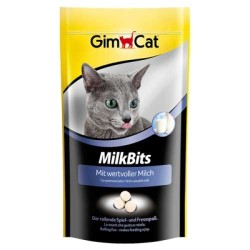 Gimcat - Gimcat Kedi Ödül Tableti Milk Bits Sütlü 40 GR