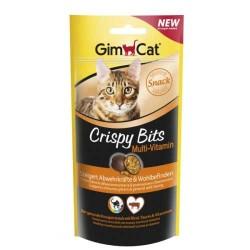 Gimcat - Gimcat Kedi Ödülü Crispy Bits Multivitamin 40 GR
