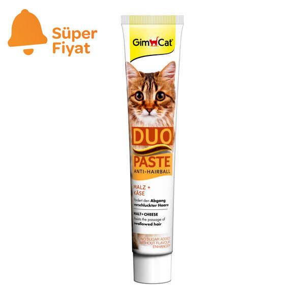 Gimcat Kediler için Anti-Hairball Peynirli Malt 50 gr