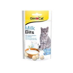 Gimcat - Gimcat Milk Bits Sütlü Taurinli Tahılsız Kedi Ödül Tableti 40 Gr