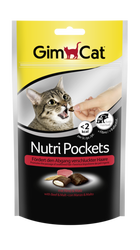 Gimcat - Gimcat Nutripockets Kedi Ödülü Biftek Malt 60Gr