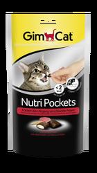 Gimcat Nutripockets Kedi Ödülü Biftek Malt 60 Gr - Thumbnail